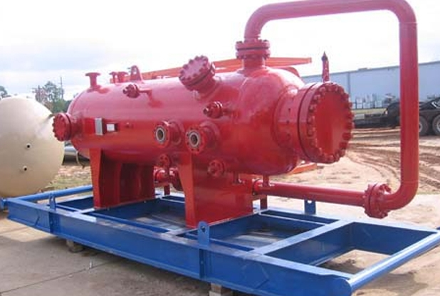 "36""OD X 10' L X 1440 PSI Production Separator"