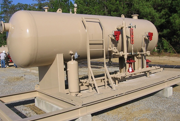 "54""OD X 15' L X 285 PSI Production Separator"