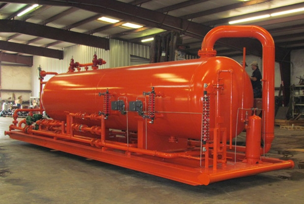 "60""OD X 20' L X 285 PSI Production Separator"